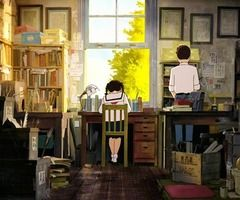 From Up On Poppy Hill. -- Studio Ghibli movies, Japanese films, moments, scenes, cute relationship
