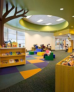 School Design | Educational Spaces | Foundation / Primary library ideas