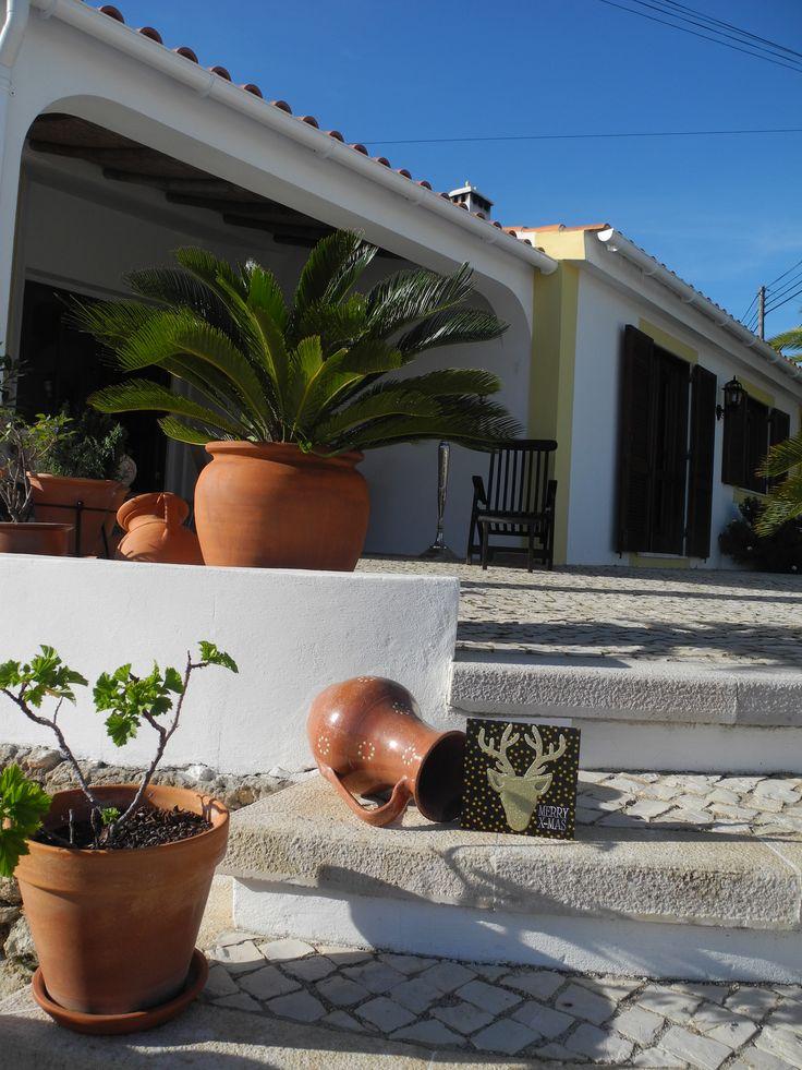 Casa de Luz Guest House Maison d'Hôtes et ses poteries portugaises traditionnelles
