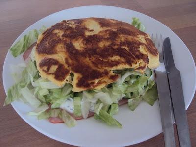 Low carb lækkerier: Sandwich med ost og skinke - LCHF
