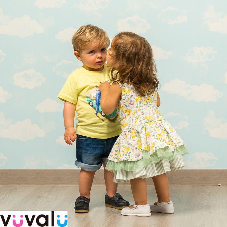 #Love is in the air, versión dos añitos. #Outfit amarillo