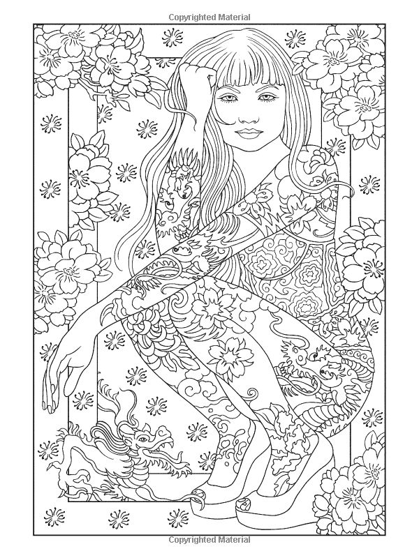 472 best Flowers to Color images on Pinterest | Coloring book ...