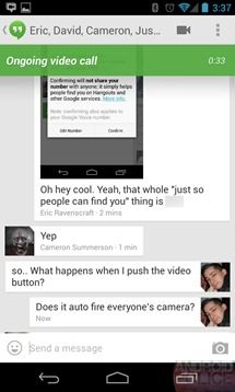 how to delete someone from google hangouts