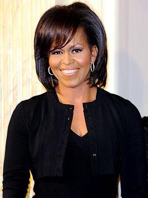 Michelle Obama: Bobs Haircuts, Presidents Obama, Beautiful Woman, Lady Michele, 1St Lady, Michelle Obama, Black Beautiful, First Lady, Michelleobama