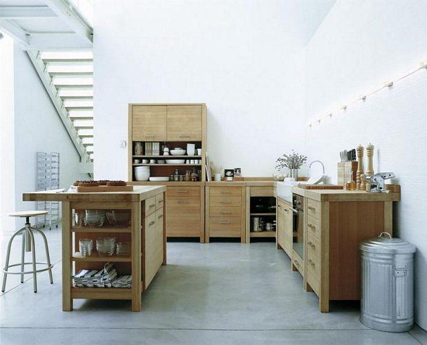 The Canella kitchen range from Habitat  Kitchens