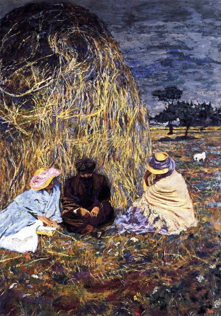 Panel For Prince Emmanuel Bibesco: The Haystack - Edouard Vuillard