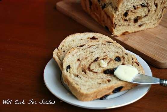 Cinnamon raisin swirl bread | Favorite Recipes | Pinterest