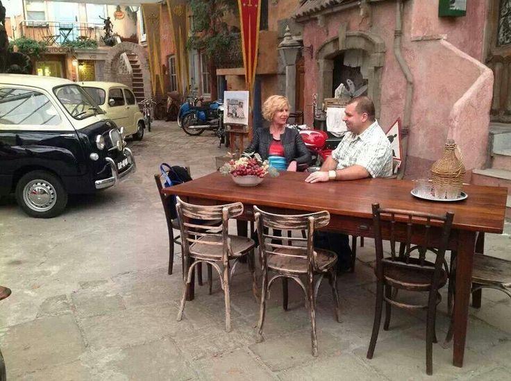 Bespreking in Il Cavallino