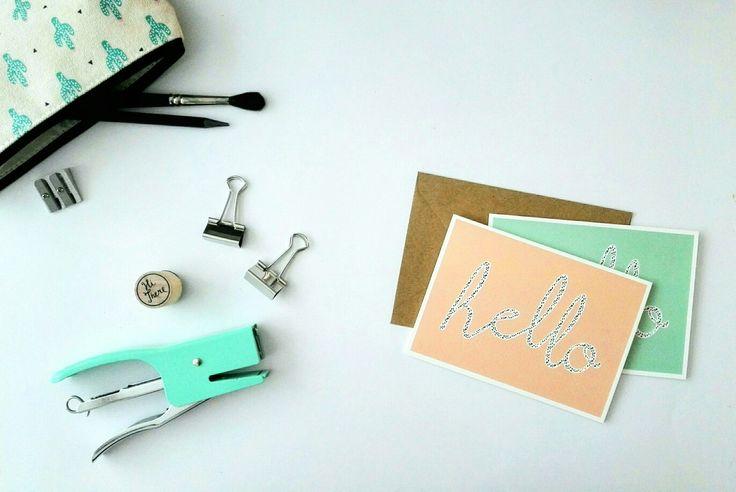 Hello | Shop op www.mintandmail.nl