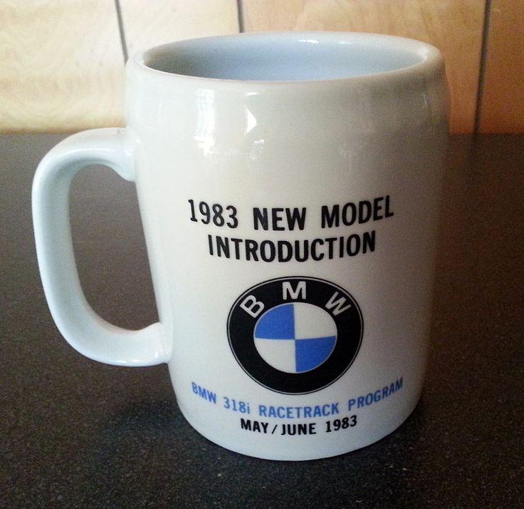 Rare 1983 BMW 318i Racetrack Program Ceramic Coffee or Beer Mug - May-June 1983 bmw coffee mug bmw coffee cup bmw beer mug bmw 318i 1983 bmw 1983 bmw 318i vintage bmw vintage bmw 318i retro bmw bmw bmw racetrack racetrack program bmw 3 series 50.00 USD #goriani