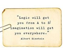 imagination will get you anywhere