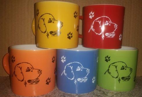 Hrnky tlapky - keramika