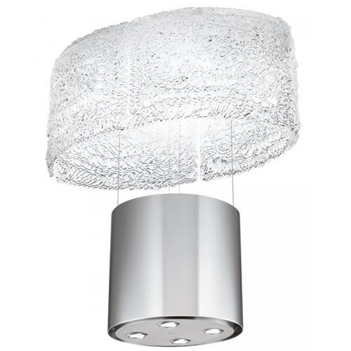 Buy Faber Nest 86cm Island Hood - Stainless Steel/Glass from BHS Direct
