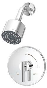 Symmons Dia Shower System 3501-CYL-B
