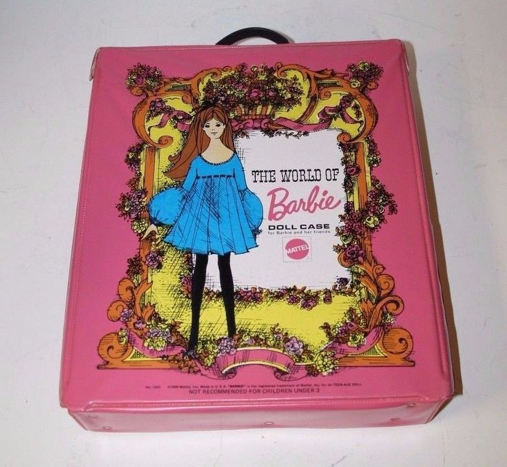 Hello ,up for your consideration is a very nice Barbie case from 1968. It is very clean with only one tear that you can see in picture #2. It has no accessories and is is missing the accessories drawer. | eBay!