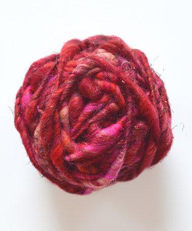 Another great find on #zulily! Strawberry Sparkle Cast Away Wool Yarn #zulilyfinds
