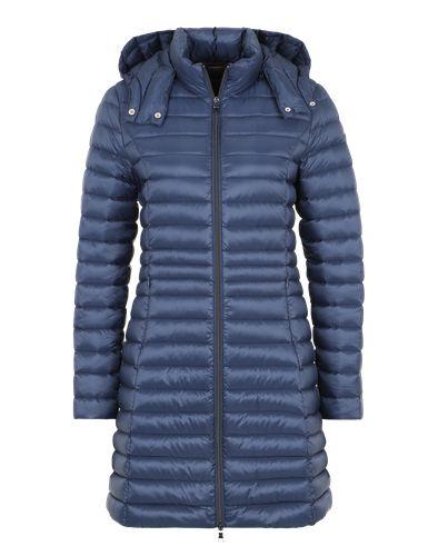 #No. #1 #Como #Damen #Daunenmantel #´MILANO´ #blau Mollig warm wird es mit dem gesteppten Mantel von No. 1 Como. Die wärmende Füllung aus Daunen und Federn ist super leicht. Eine Kapuze schützt vor Regen und Wind.