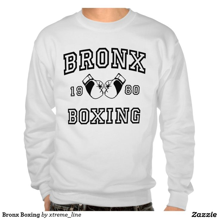 Bronx #Boxing Pullover Sweatshirt. #NYC  #Clothing #Zazzle
