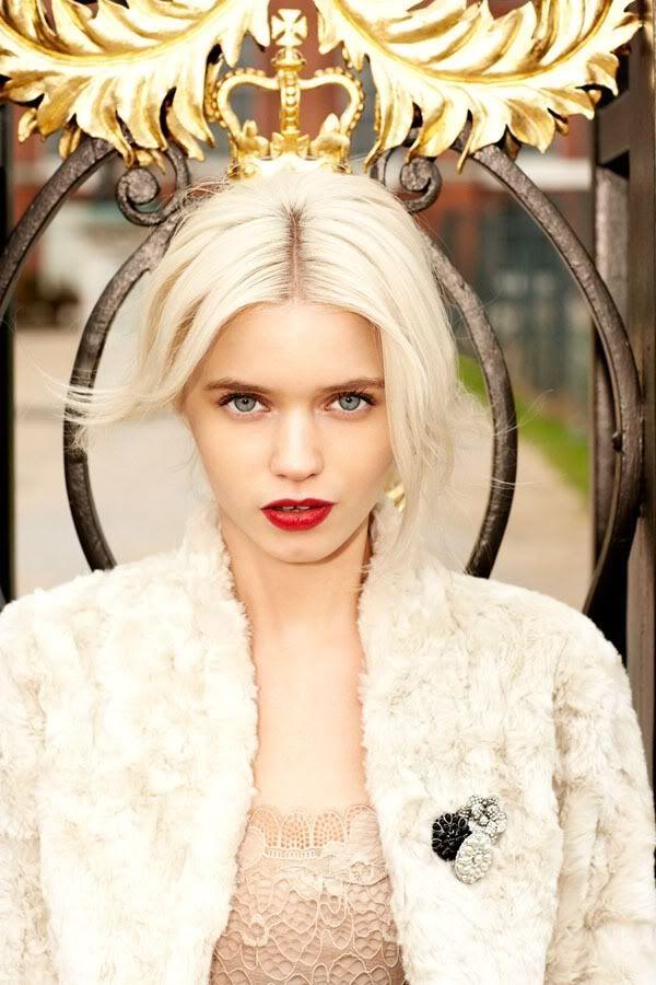 ru_glamour: Эбби Ли Киршоу в лукбуке Portmans