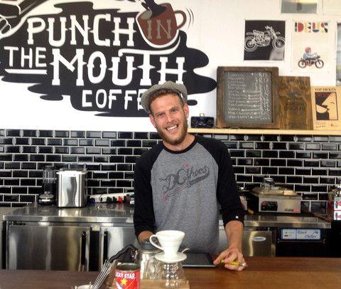 Ernest, the barista at Duke and Duchess in Umhlanga.  #coffee #barista #Durban #coffeeshop