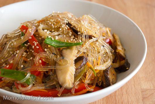 Chap Chae Recipe | Cooking Momofuku at home - Momofuku for two