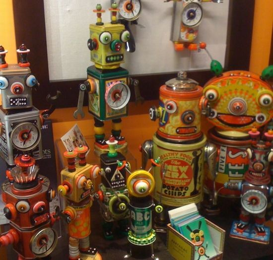 whimsical recycled robots :D: Kids Recycled Art Projects, Recycled Art For Kids, Robots Art, High Schools Art, Google Search, Recycled Art Projects For Kids, Recycled Robots, Old Tins, Altered Art