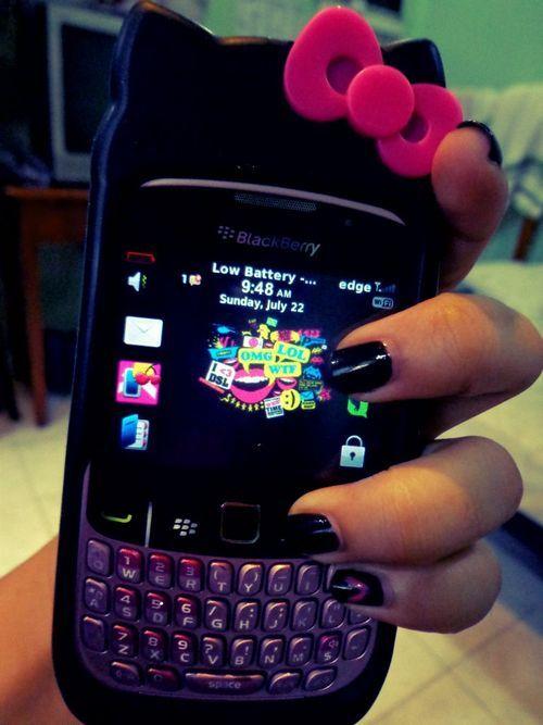 Hello Kitty BlackBerry case: Blackberries Cases, Phones Cases, Phones Ipad Cas, Kitty Cases
