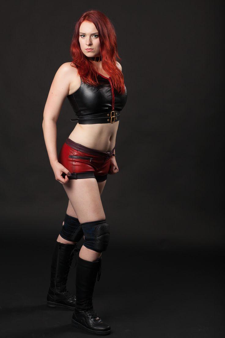 Kira pro wrestler from norway!