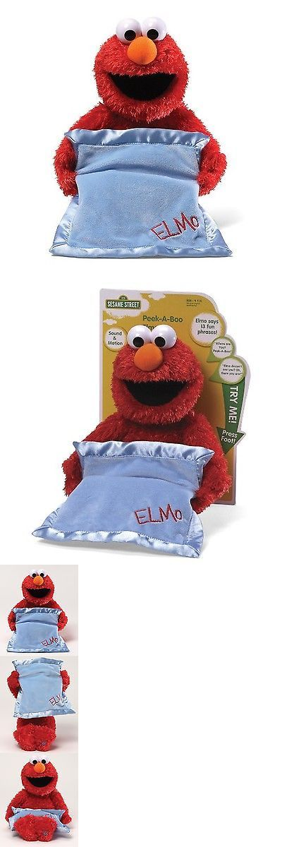 Muppets Sesame Street 2627: Gund Sesame Street Peek-A-Boo Elmo Animated Toy -> BUY IT NOW ONLY: $38.68 on eBay!