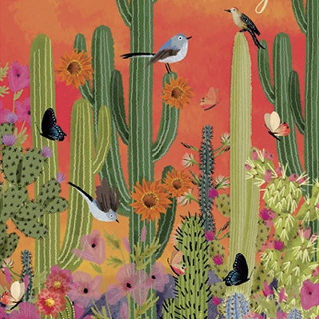 jane newland (@janenewland) | Twitter | Desert art, Illustration art, Artist trading cards