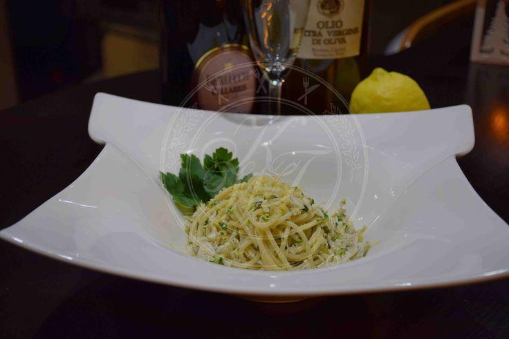 Spaghetti al ragù di rossetti e zucchine