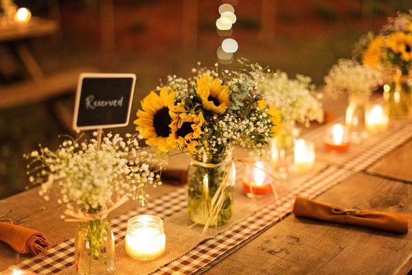 Backyard Fall Wedding on WeddingWire
