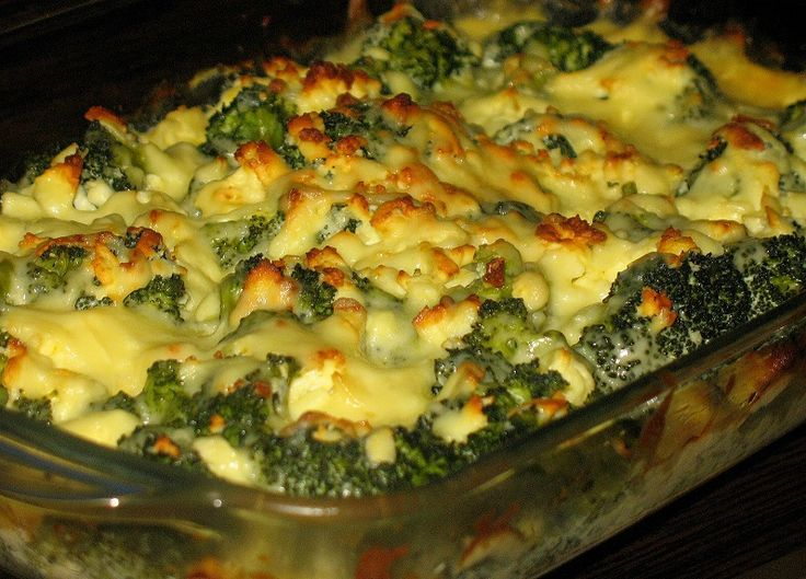 Budinca de broccoli