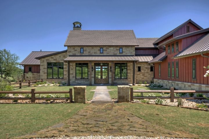 441 best exterior houses images on pinterest arquitetura for Texas farm houses