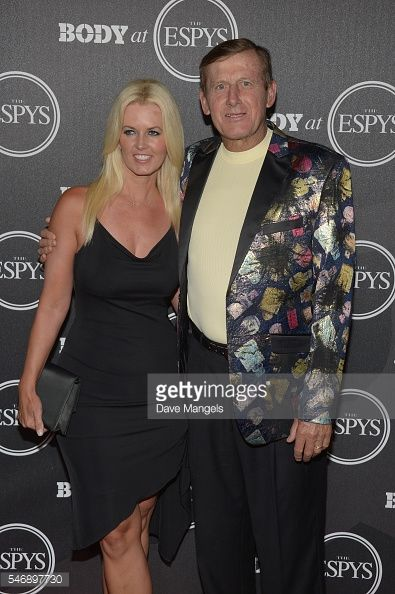 LOS ANGELES, CA - JULY 12: Craig Sager (R) and Stacy Sager attend the BODY At The ESPYs pre-party at Avalon Hollywood on July 12, 2016 in Los Angeles, California. (Photo by Dave Mangels/Getty Images)