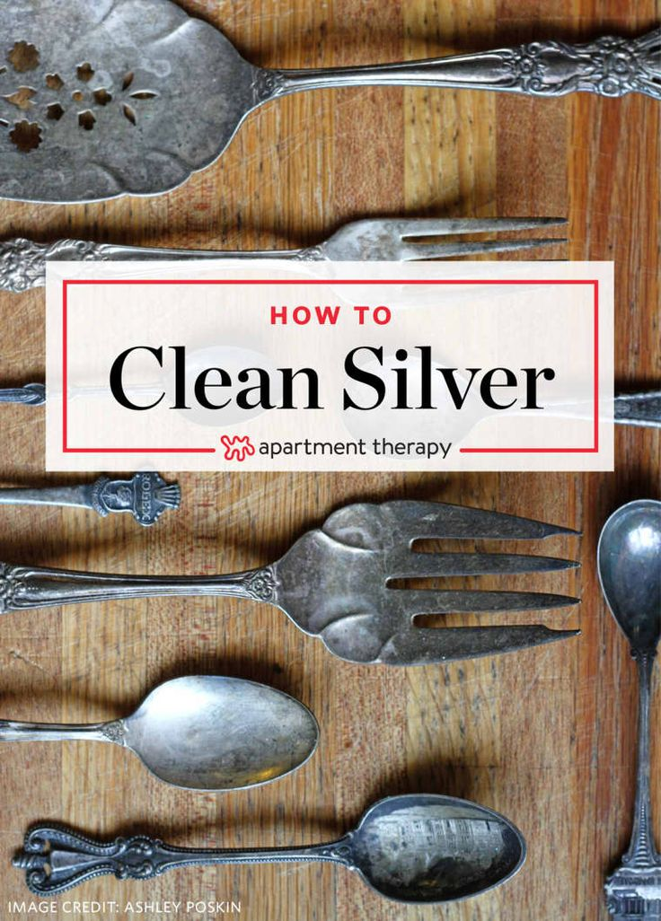 How To Clean Silver With Aluminum Foil & Baking Soda How