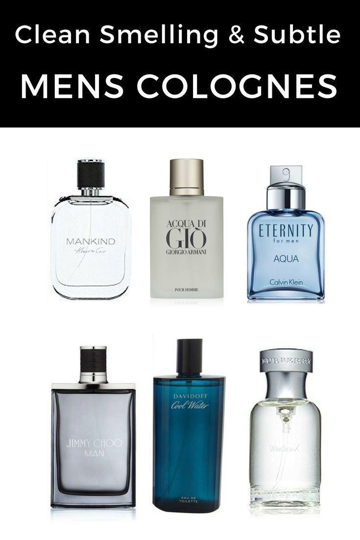 9880aa7c1f3d Looking for a clean smelling or subtle cologne? We review some of the top  fragrances