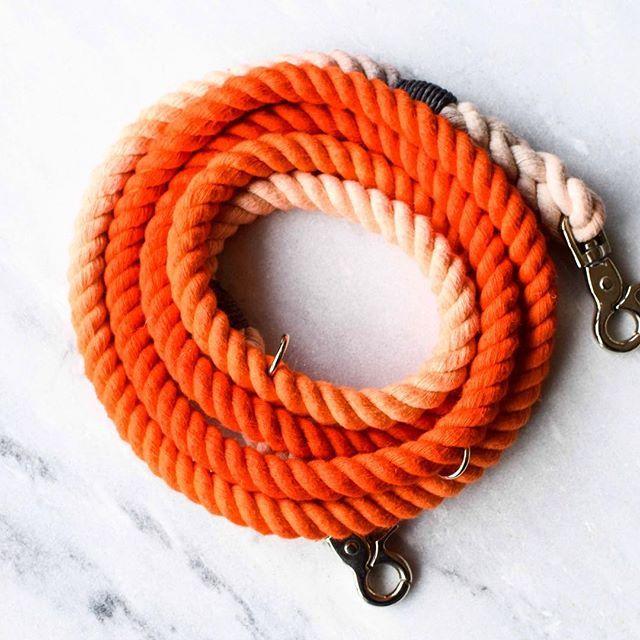 Orange Ombre Lead  #Wolvesofwellington #Doglead #Ropelead