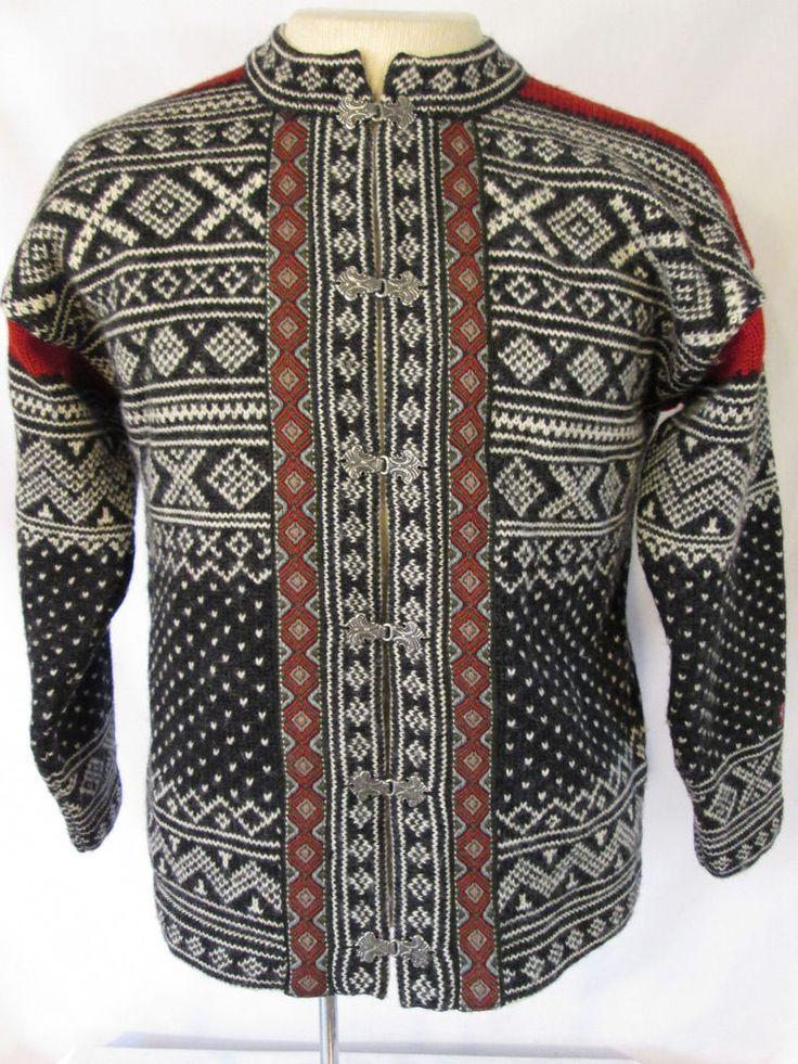 DEVOLD NORWEGIAN Wool Sweater MADE IN NORWAY