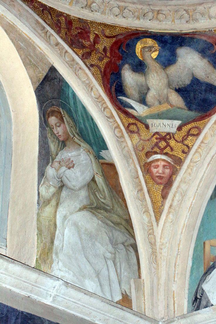 Lorenzo lotto, storie di maria, 1525, annunciazione 2.JPG
