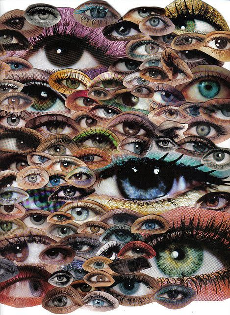 Eyes collage - Carefully selected by GORGONIA www.gorgonia.it