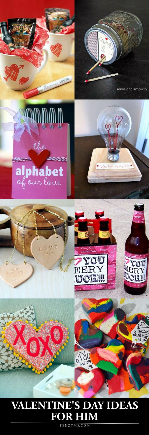 101 homemade valentines day ideas for him thatre really cute - Valentines Day Present For Boyfriend