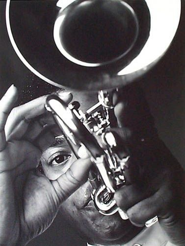 Jon Faddis, jazz player by Marco Glaviano I played in-clinic with this amazing Trumpeter while in college.