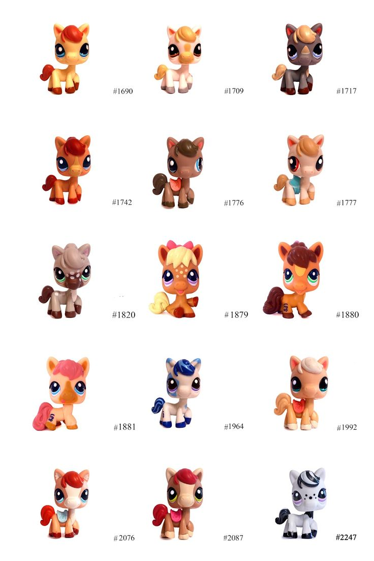 Nicole`s LPS blog - Littlest Pet Shop: Pets: Horse