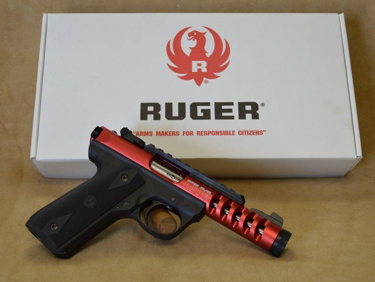 Ruger 22/45 Lite Red - 22 LR - Exclusive