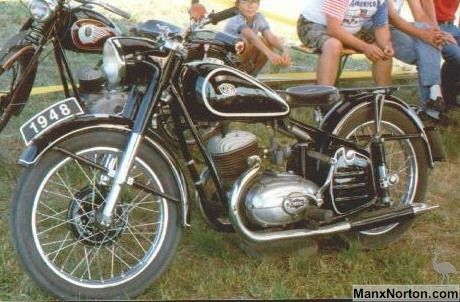 Csepel 250cc Twin [Hungary]