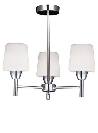 Aquarius 3 light flush - ceiling lights  - Home, Lighting & Furniture