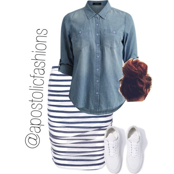 A fashion look from June 2017 by apostolicfashions featuring Vila Milano, Splendid and Filling Pieces