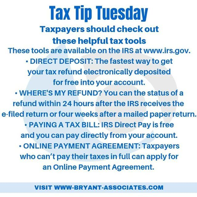 Taxpayers Should Check Out These Helpful Tax Tools These Tools Are Available On The Irs At Buff Ly 2iqhorn Direct Deposit The Fastest Way To Get Your Tax Ref