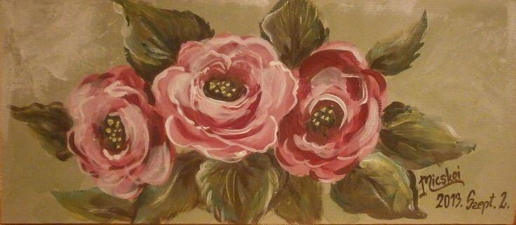 rózsák-akril-karton-11x20 cm
